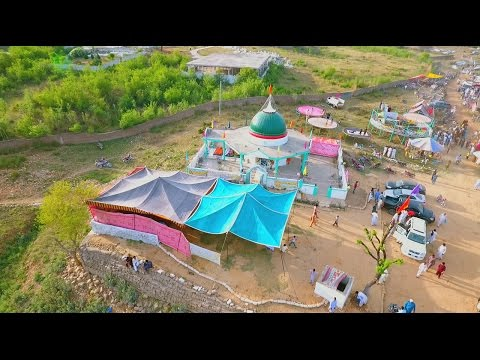 Siakh Azad Kashmir Mela and Palak bridge drone video 2017