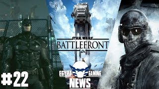 EGN episode 22 Batman Arkham Knight PC issues Starwars battlefront alpha & Call of Duty remasters