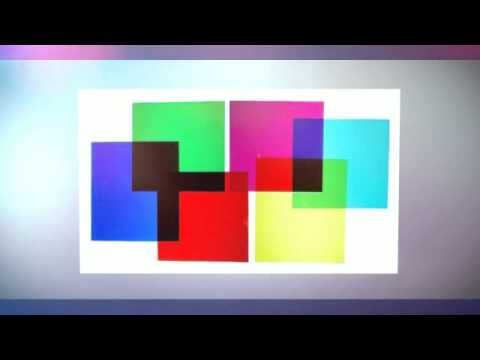 Colored Film Gels - Set of Six Colors 8x10 inch sheets - YouTube
