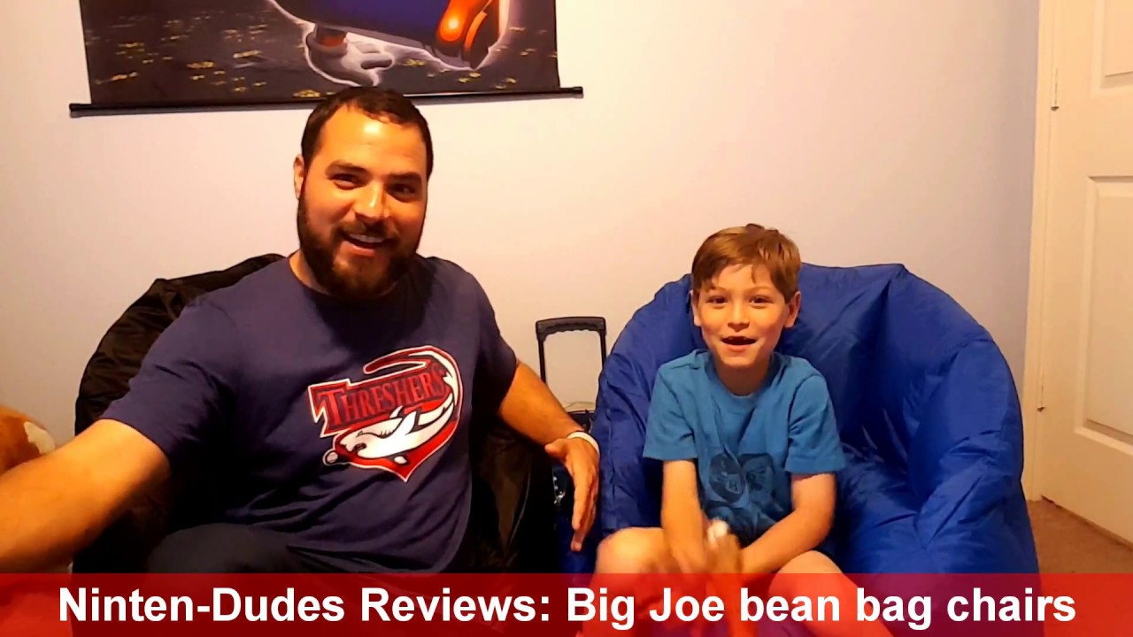 Charmant The Ninten Dudes Reviews: Big Joe Bean Bag Chairs! Nintendo Switch Gaming  Chairs