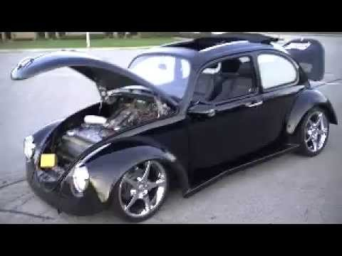 1974 vw beetle ragtopcustom chrome rims hp turbo for sale youtube publicscrutiny Image collections