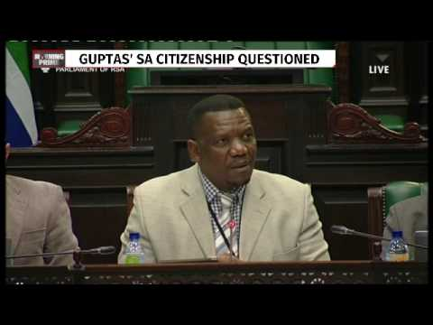 Home Affairs appears in parliament