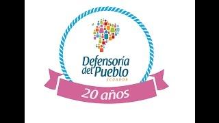 Defensoría del Pueblo: 20 años en la historia de Ecuador