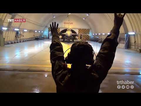 TSK, pilotların zorlu görevinin anlatıldığı klip