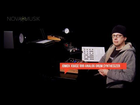 Nova Musik - JoMoX XBASE 999 Analog Drum Synthesizer