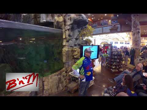 BnM and Garmin Pro Crappie Kirby at Bass Pro's Crappie Madness Seminar