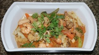 Healthy Tasty Quick Thai Red Curry Recipe