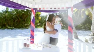Свадьба в Доминикане, Антон и Ольга