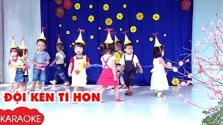 ĐỘI KÈN TÍ HON - Karaoke | Nhạc Karaoke Thiếu Nhi Beat Chuẩn Dành Cho Bé