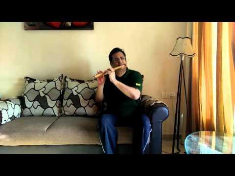 Aanewala Pal Janewala Hai On Flute