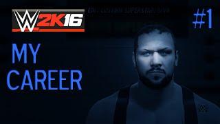 Pelataan   WWE 2K16    My Career   osa 1: Enter Collins
