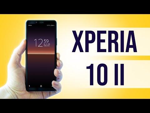 Das Sony Xperia 10 II im Test -  Lohnt sich das schmale Mittelklasse Smartphone? Testventure