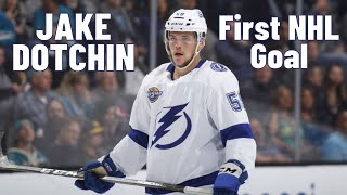Jake Dotchin #59 (Tampa Bay Lightning) first NHL goal 08/11/2017