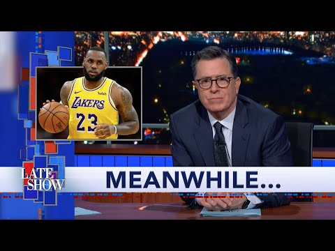 Meanwhile... LeBron James