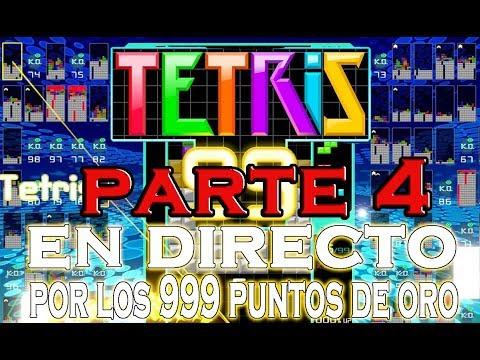 TETRIS 99 EN DIRECTO PARA CONSEGUIR ESOS PUNTOS DE ORO MyNintendo - STARGIN GAMES (PARTE 4)