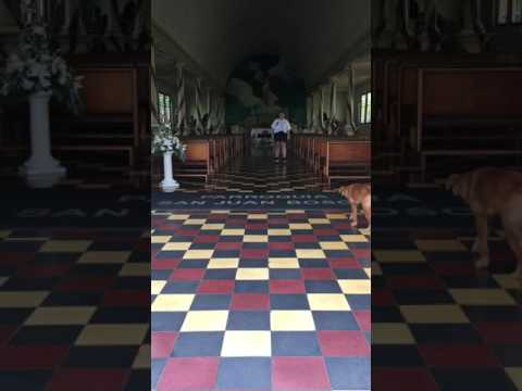 singing in a catholic church in costa rica