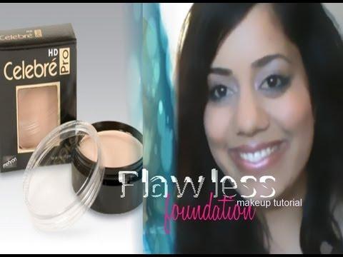Mehron Celebre Pro Hd Flawless Foundation Tutorial Youtube