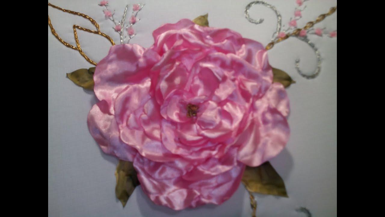 Flor de tela quemada youtube - Flores de telas hechas a mano ...