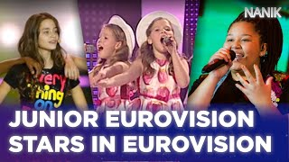 Junior Eurovision stars in adult Eurovision Song Contest | NANIK ESC