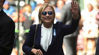 Hillary Clinton leaves 9/11 event early, diagnosed with pneumonia