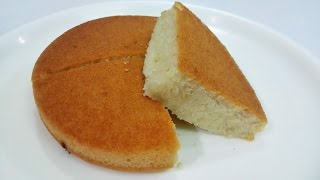 Eggless Vanilla Sponge Cake || Pressure Cooker Eggless Sponge Cake Recipe