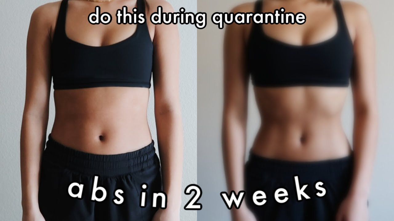 ABS IN 2 WEEKS?! i tried the chloe ting 2 week shred ...