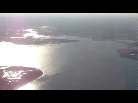 Boston-to-Chicago flight: Quincy, Gloucester, Haverhill MA; Lake Ontario; Lake Michigan 2012-01-07