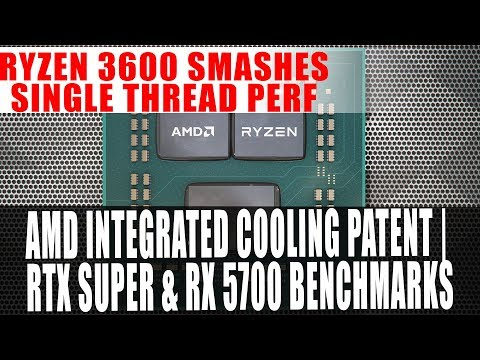 AMD Integrated Cooling | RTX Super & RX 5700 Benchmark