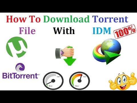 torrent file download with idm free