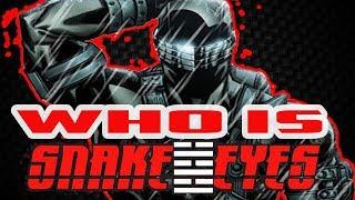 Gambar cover History and Origin of Snake Eyes! Who Is GI Joe's Snake Eyes?