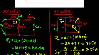 Introduction to Superposition Theorem & Solved  Example 1