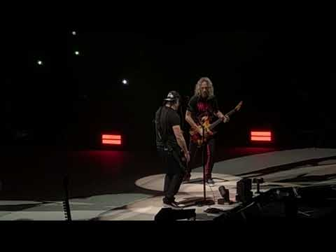 Metallica - Vamos bien (Obus cover) - WiZink Center Madrid - 3/2/18
