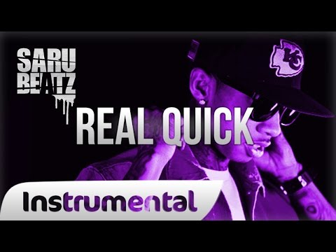 Tyga Style Gangsta Rap Beat Heavy 808 Bass Trap Instrumental