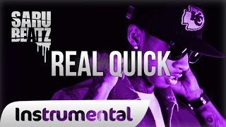 "Tyga Style Gangsta Rap Beat Heavy 808 Bass Trap Instrumental "" Real Quick "" - SaruBeatz"