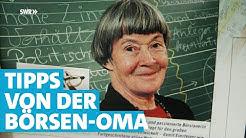 Börsen-Oma Beate Sander: Jetzt im Corona-Crash soll man in Aktien investieren