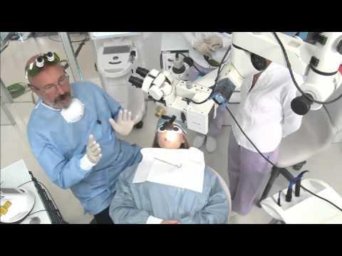 Laser live surgery: Sirona Laser Days 2015