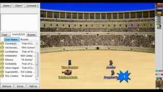 16 bit arena: 1v2 & 2v2 battles
