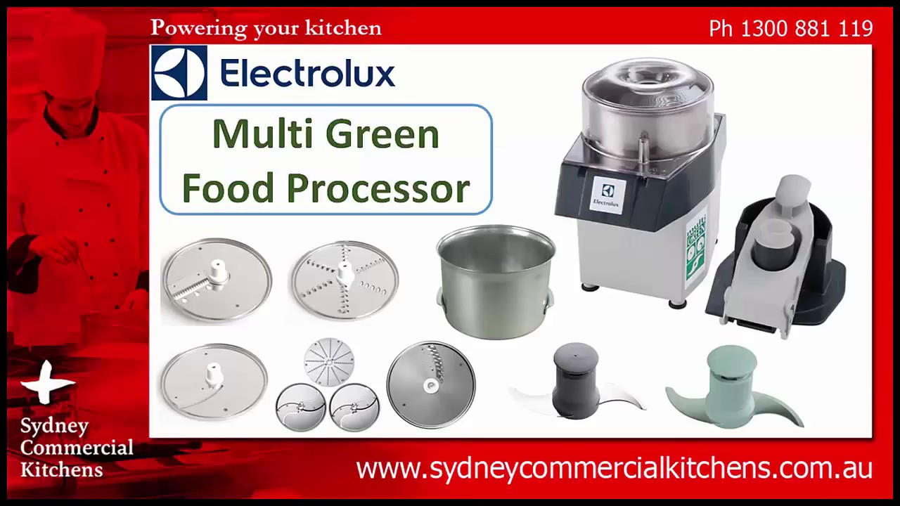 ELECTROLUX - Multi Green Food Processor (MUGYXAUS) - YouTube