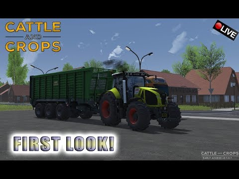 "{NL} ""FIRST LOOK!"" Cattle And Crops ROAD TO 25K SUBS!"