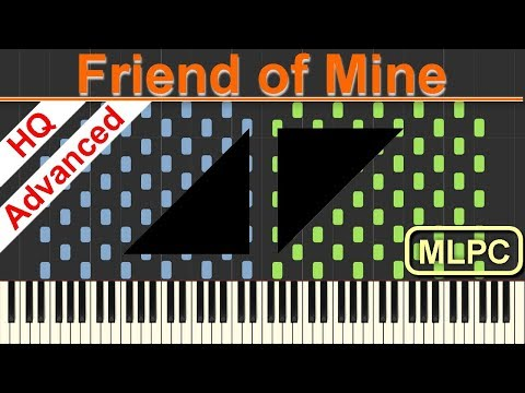 Avicii feat. Vargas & Lagola - Friend of Mine I Piano Tutorial & Sheets by MLPC