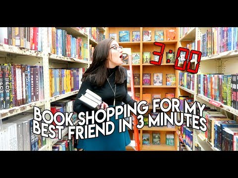 3 MINUTE BOOK SHOPPING CHALLENGE Feat. Michael BookLion.
