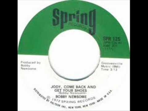 """Bobby Newsome """"Jody, Come Back And Get Your Shoes"""""""
