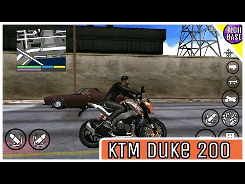 Install KTM Duke 200 On Gta San Android
