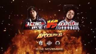 "Apocalipsis XL Aczino VS Akapellah | LXL16 ""Linea Dieciséis"" (Vídeo Oficial)"