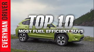 Top 10 Fuel Efficient SUVs Of 2014 On Everyman Driver