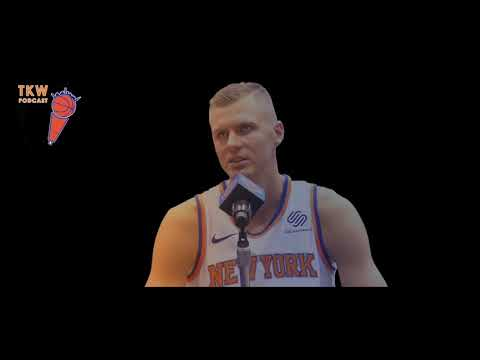 Knicks Starting Lineup, Robinson Expectations & Kristaps Week | TKW Podcast