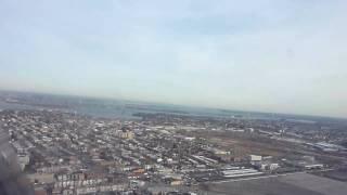 lga clt us airways express taking off runway 13 crj
