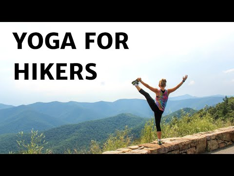 yoga for hikers  stretches for tired legs  youtube