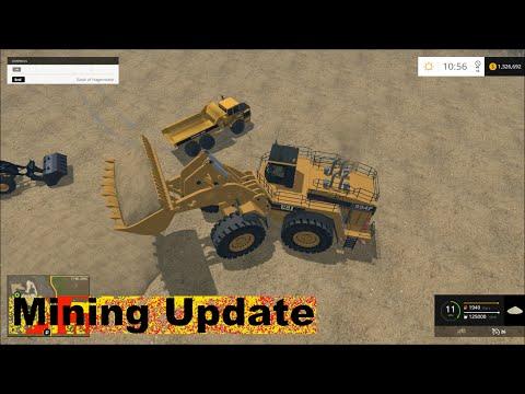 Farming simulator 15 | Mining six Wash Plants!!
