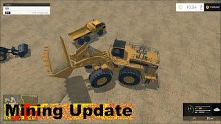 Farming simulator 2015 Mining six Wash Plants!!